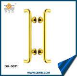 Maneta de oro del tirón del color para la puerta de cristal