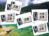 4 Deurbel van de Telefoon van de Deur van de draad de Video met het Systeem van de Intercom