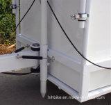 Плоский лоток зажарил тележку машины крена мороженного на самой низкой цене