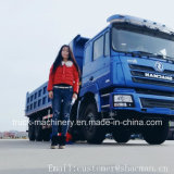 Shacman 8*4 F3000 덤프 트럭 Cummins Engine 385HP
