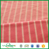 Paño grueso y suave polar determinado colorido estático anti de la hoja de base de la venta caliente con la tela Anti-Pilling