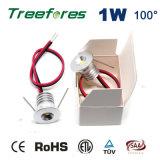 luz de bulbo 15mm do diodo emissor de luz de 1W 12V 24V mini 100lm 80ra com Ce RoHS