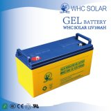 Batterie solaire de gel de la grande capacité 12V100ah pour le système solaire