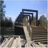Мост стальной структуры от профессионального изготовления