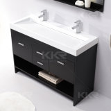 Lavabo di superficie solido di arte della stanza da bagno della resina di pietra di marmo (B1706193)