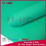 Ejercicio de Pilates del color sólido de la estera de la yoga de la textura de EVA