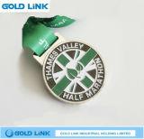 Métiers courants personnalisés de médaille de récompense de module de finition de souvenir de médaille de marathon