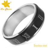 Streptokok-008 elegante Modieuze Vlotte Groene Gouden Ring