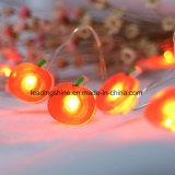 Lumière argentée chaude de chaîne de caractères du fil DEL du blanc 10m 207LEDs de forme rouge d'Apple pour Noël