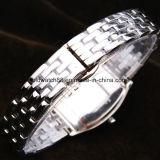 Vigilanze di lusso del diamante dell'acciaio inossidabile per le donne