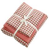 OEM Cotton Red Bedding para hotel de 4 estrelas