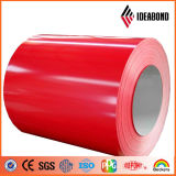 La couleur de fournisseur de la Chine a enduit la bobine en aluminium pour des matériaux de construction de toiture