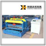 機械を形作るKxd-1080ステップタイル屋根ロール