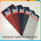 Hsinda Ral7035 화려한 가죽 실크 회색 빛나는 분말 코팅