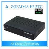 Zgemma H5.2tc gêmeo decodificador da tevê do Multi-Vapor H. 265 da sustentação DVB-C/T2 + DVB-S2