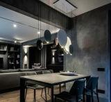 2017 Lampes pendantes en résine et acrylique à chaud pour les salles