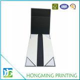 Contenitore di monili piegante del cartone di carta nero opaco