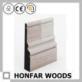 Moldar de contorno aprontado tamanho personalizado do Baseboard de madeira