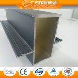 Profil en aluminium pour le tissu pour rideaux Windows et les portes avec l'OIN reconnue