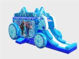 Neues gefrorenes Haus-aufblasbares springendes Schloss mit Plättchen (CHB1125-1)