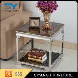 Живущий таблица стекла таблицы стороны софы мебели комнаты