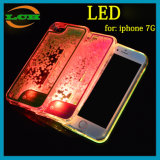 심혼 모양 iPhone7를 위한 액체 유사 LED 전화 상자