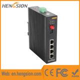 5 Gigabit-Kanäle Tx und Fx gehandhabter industrieller Netz-Schalter