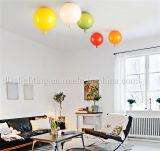 Lâmpada decorativa colorida moderna do teto do balão para a iluminação do candelabro do quarto do bebê