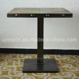 Ретро таблица Argyle мебели трактира типа с ногой таблицы чугуна (SP-RT465)