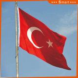 Su ordinazione impermeabilizzare e modello no. della bandiera nazionale della Turchia della bandiera nazionale di Sunproof: NF-048