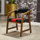 لون مزدوجة خشبيّة مطعم أثاث لازم كرسي تثبيت مع أحمر وسوداء ([سب-ك480])