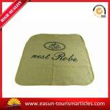 カスタム安い航空会社は柔らかいタッチの投球毛布を印刷した