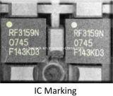 Tipo vertical máquina de Hzlf -30b da marcação do marcador do laser da fibra de China