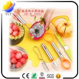 Het knippen van het Snijden en Mes van het Fruit van Baller van de Meloen het Multifunctionele Praktische