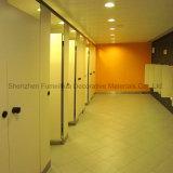 Partition compacte moderne faite sur commande de compartiment de toilette publique de la mode HPL