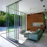 Porte coulissante en aluminium pour salle de bain