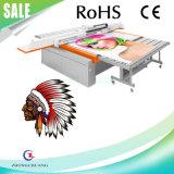 Impresora de Digitaces ULTRAVIOLETA de cuero de la inyección de tinta del formato grande del ABS del PVC de la PU de la bandera de la flexión