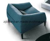 Самомоднейшая мебель софы ткани софы кожи дома типа (D-76-C)