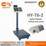 300kg 태양 전지판 T6-2를 가진 전자 디지털 Platfrom 가격 가늠자