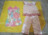 Dame-Sommer-Silk Pyjamas Wholesale verwendeten kleidenden heißen Verkaufs-Deutschland-Markt