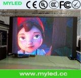 El panel de visualización video/pantalla de interior delgados LED para el alquiler (pantalla de la pared de P3mm-RGB)