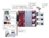 4axis motor de pasos de la nema 23 para el pequeño CNC con la fuente de alimentación y la tarjeta de programa piloto