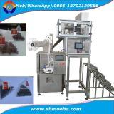 Machines d'empaquetage en nylon de sachet à thé de pyramide automatique de triangle, machine à emballer de sachet à thé de triangle