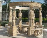 고대 옥외 훈장을%s 자연적인 대리석 정원 큰 천막