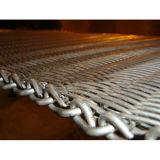 Cinghia del forno a tunnel per la strumentazione di trasformazione dei prodotti alimentari, trattamento caldo