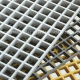 Решетка отлитая в форму стеклотканью для толя здания