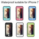 Cas imperméable à l'eau de Fre d'épreuve de vie de téléphone cellulaire pour l'iPhone 7