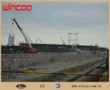 Machine verticale électrique automatique de soudure continue pour la construction de réservoir