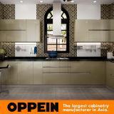 Oppeinの現代緑の金銀点滅の食器棚(OP16-L26)
