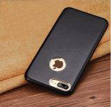 Caja de cuero verdadera del teléfono celular para el iPhone 7 más